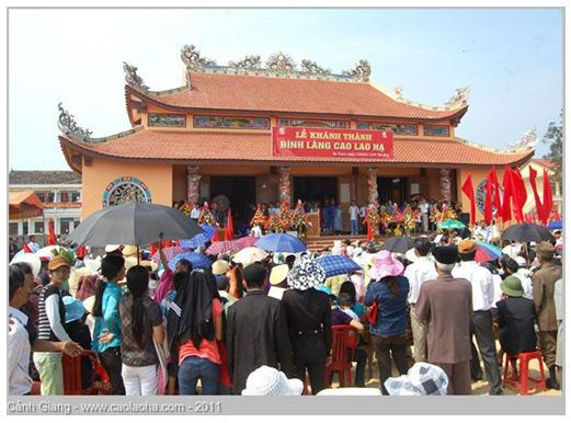 Tập san số 01 làng Cao Lao Hạ