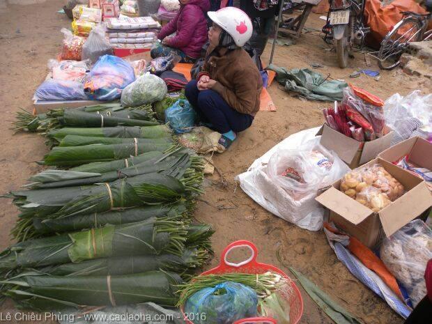 Tản mạn bánh chưng Tết làng Hạ
