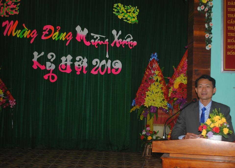 Phát biểu của đồng chí Lê Quang Nho nhân dịp năm mới 2019