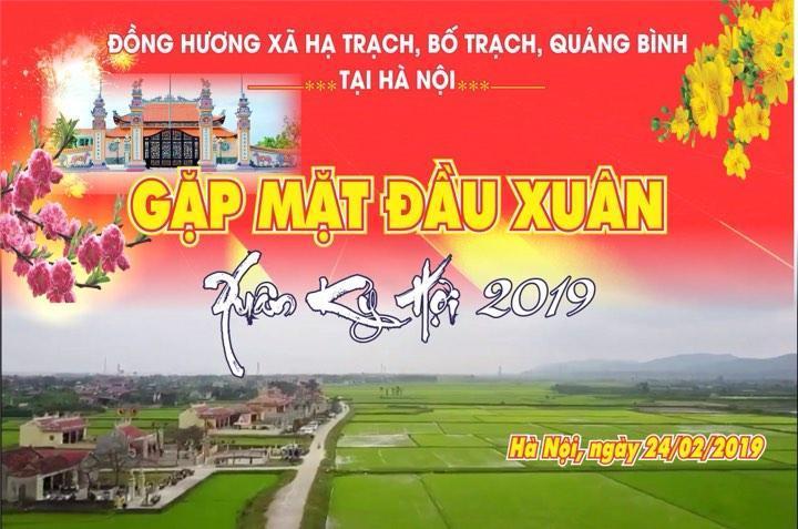 Báo cáo hoạt động năm 2018 – 2019 của Hội đồng hương Hạ Trạch tại Hà Nội