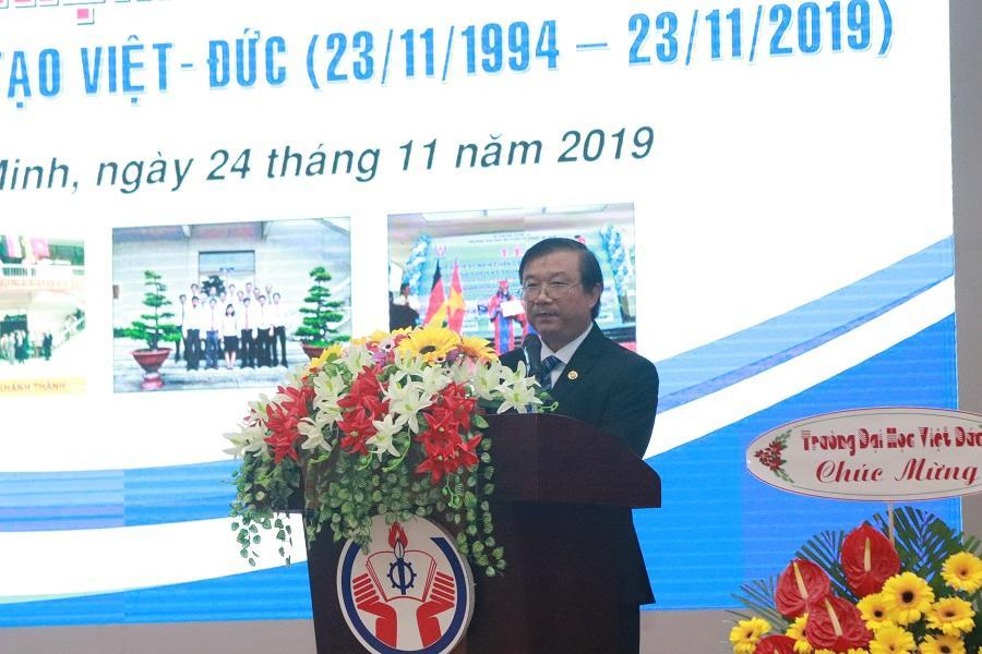 Lễ kỷ niệm 25 năm thành lập Trung tâm Việt Đức
