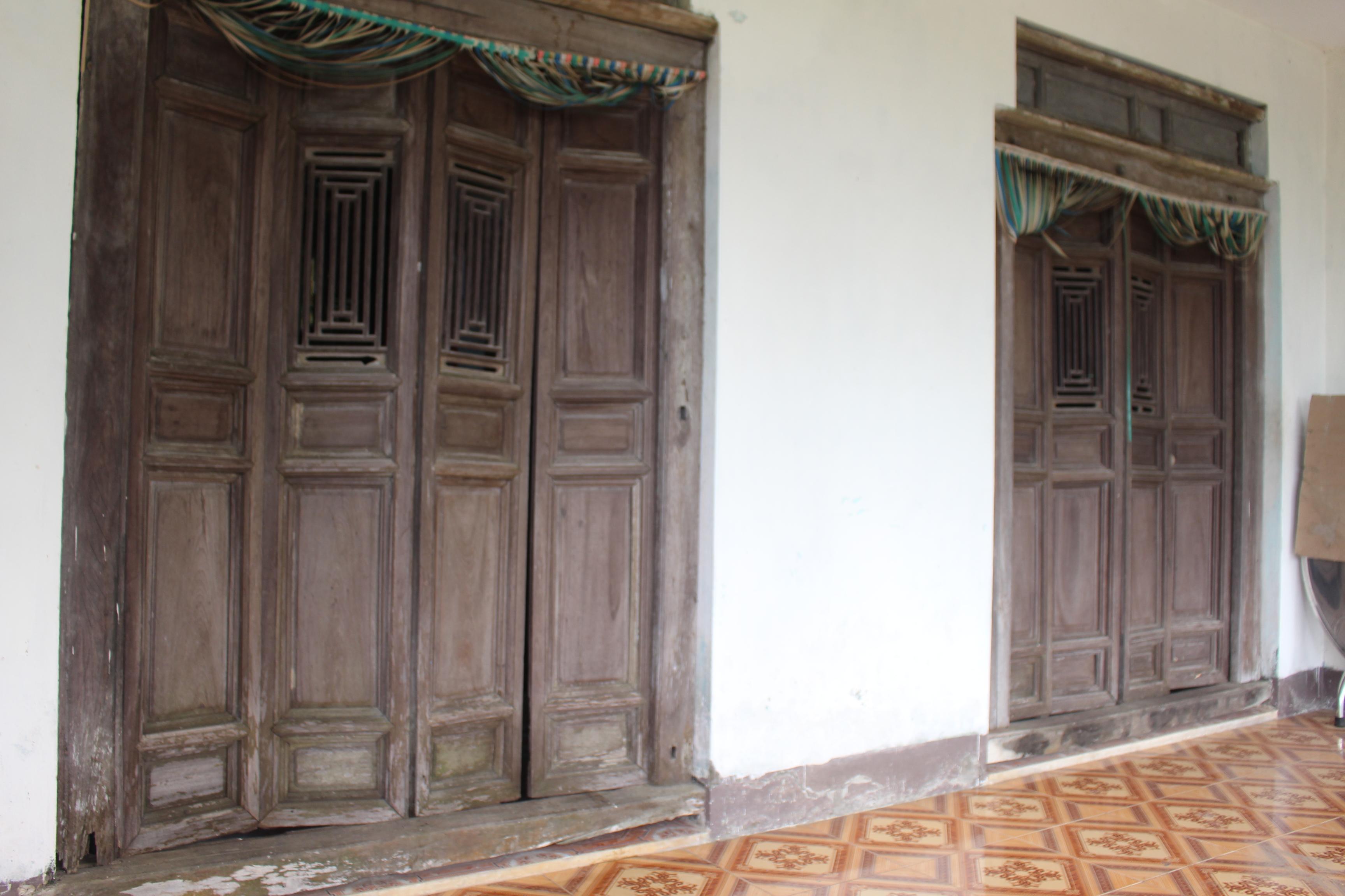 Ngôi nhà cổ của bác Lưu Văn Lãm