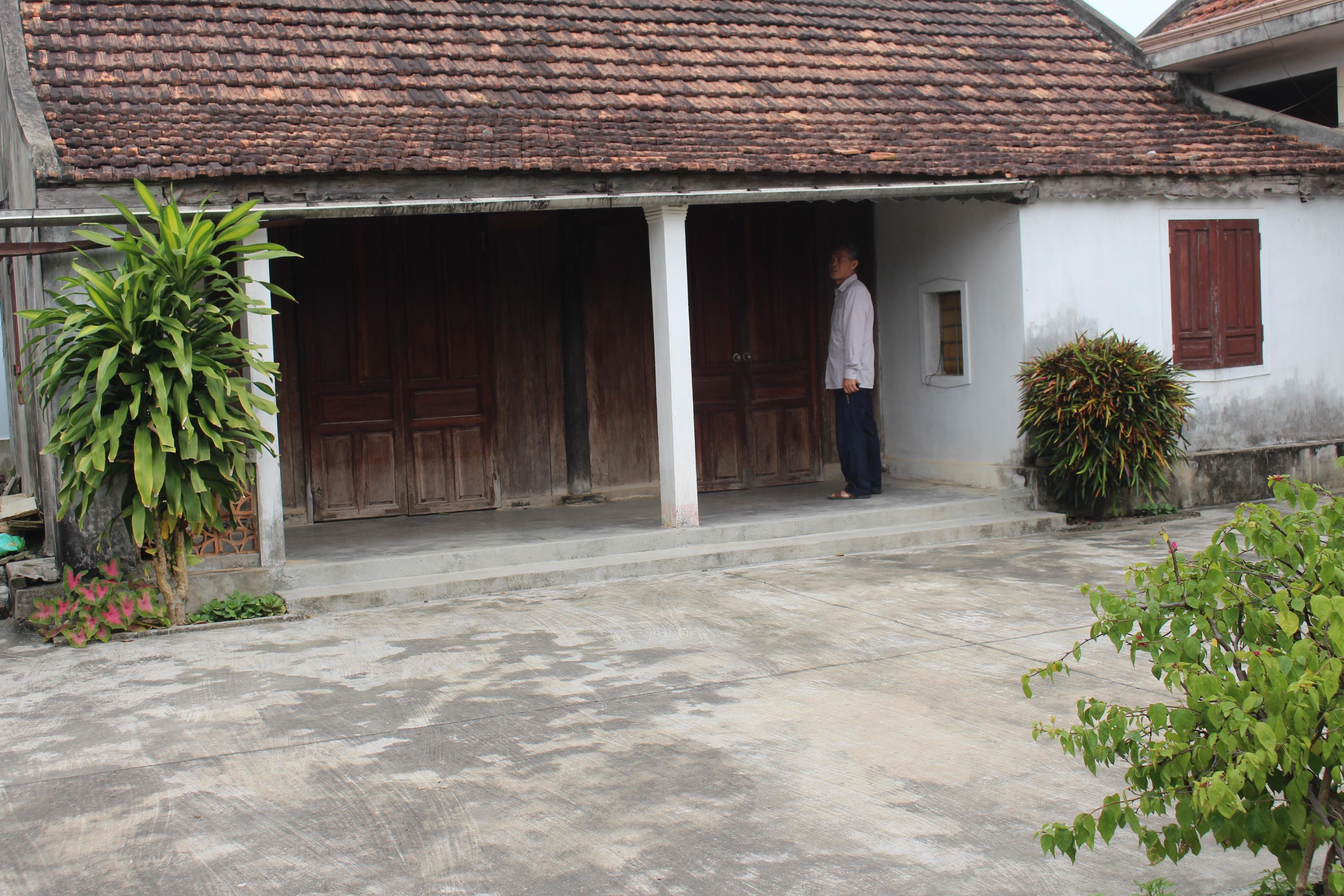 Ngôi nhà kiến trúc cổ của mệ Lê Thị Năm