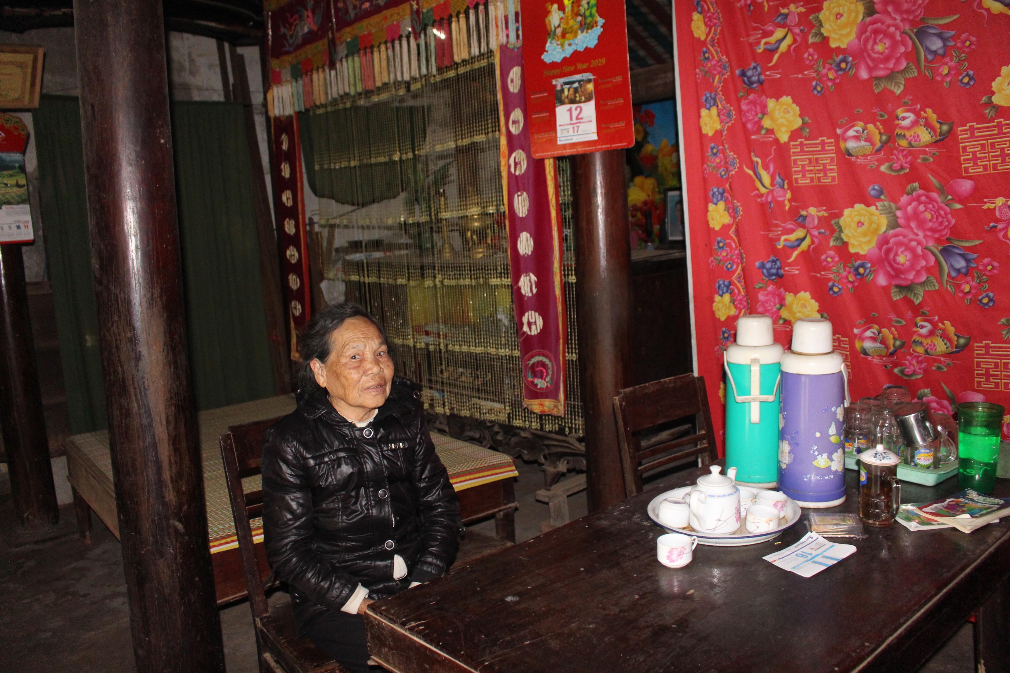 Ngôi nhà kiến trúc cổ của mệ Lê Thị Giởi