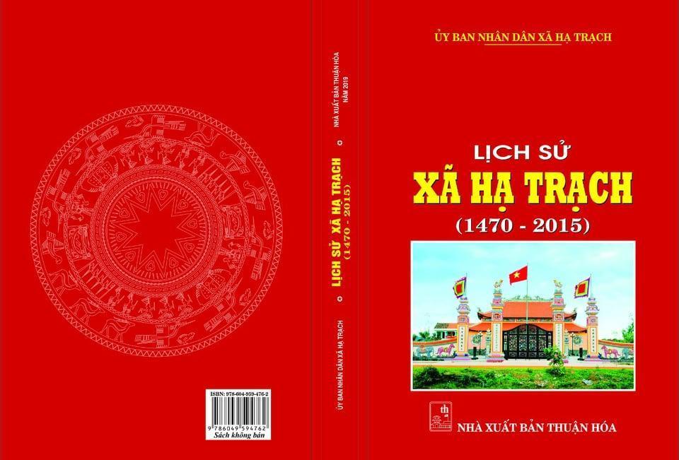 Lịch sử xã Hạ Trạch 1470 – 2015 (phần 8)