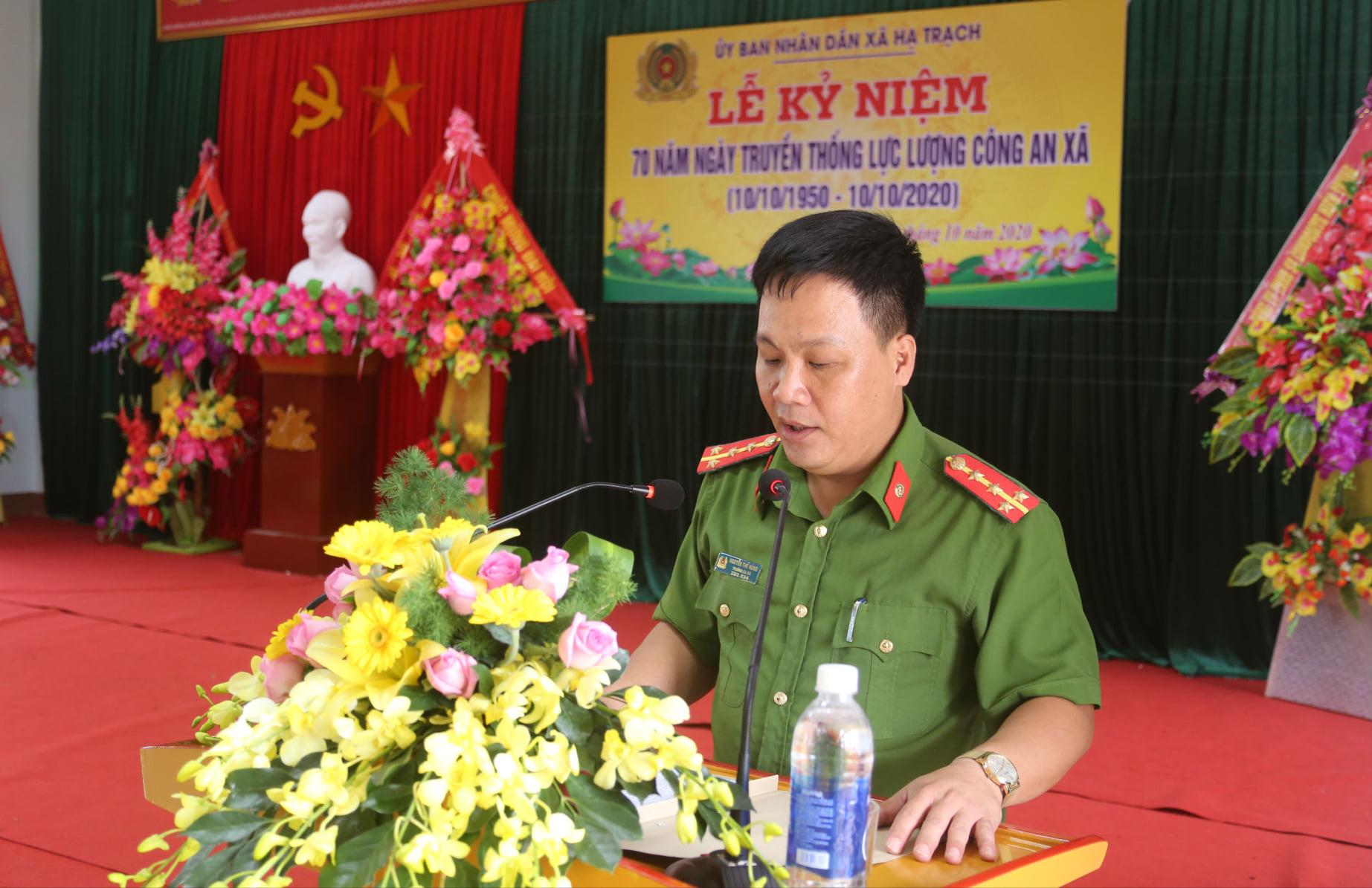 Kỷ niệm 70 năm ngày truyền thống công an xã