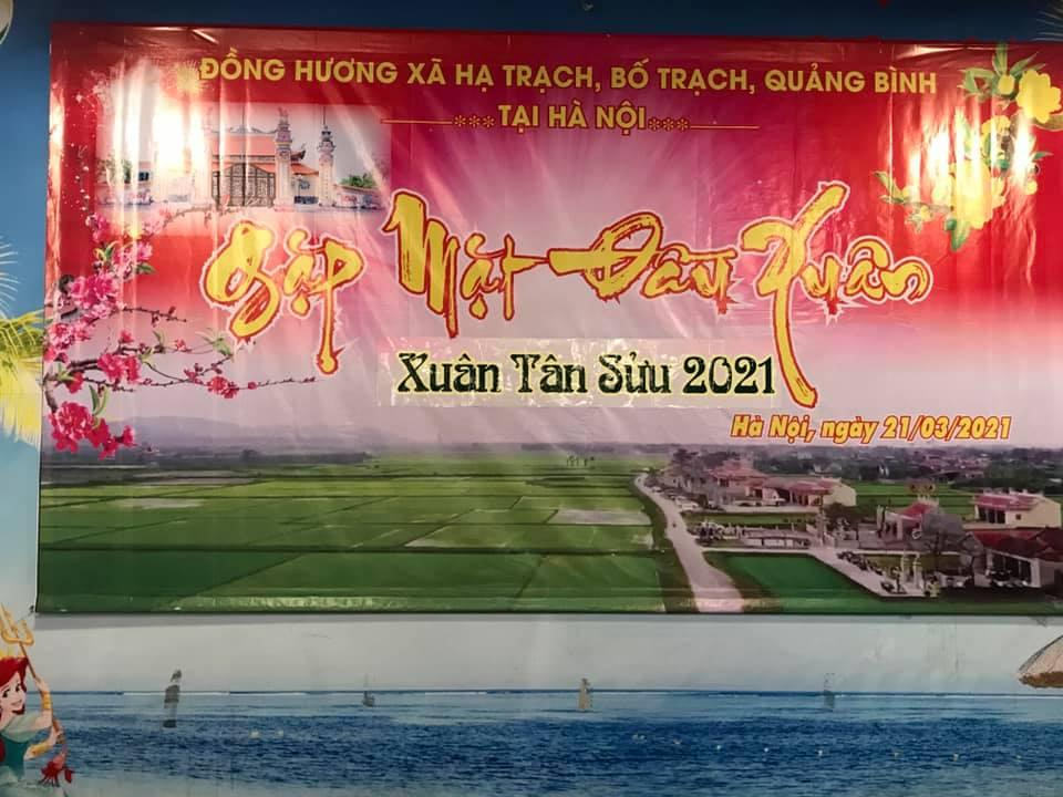 Bà con Hạ Trạch tại Hà Nội gặp mặt đầu xuân 2021
