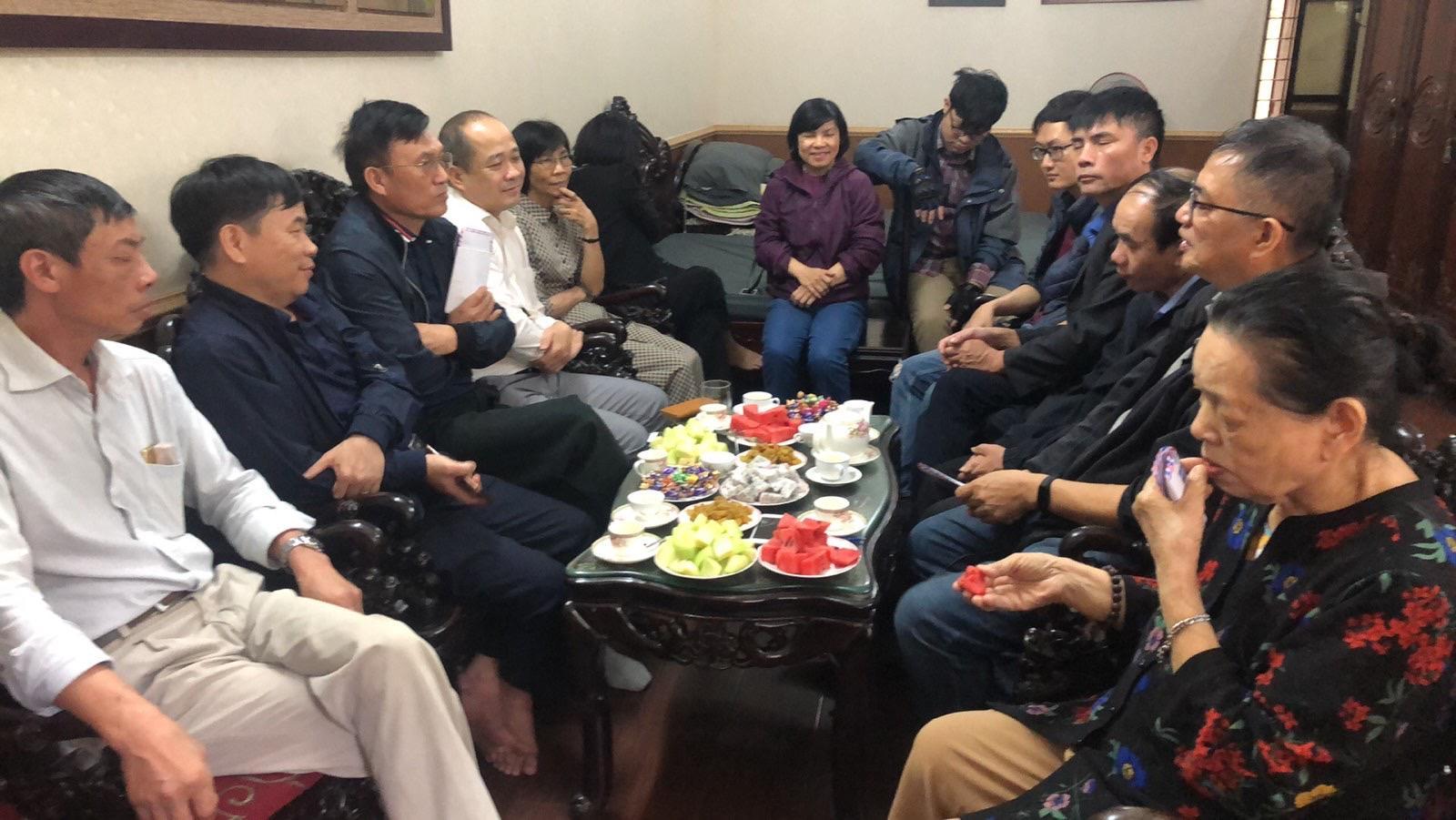 Họ Lưu Quan ở Hà Nội gặp mặt đầu năm Tân Sửu