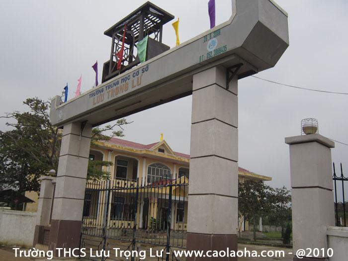 Ba học sinh trường THCS Lưu Trọng Lư đạt giải quốc gia