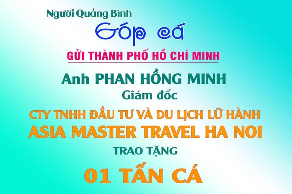 Tấm lòng của anh Phan Hồng Minh trong đại dịch Covid – 19